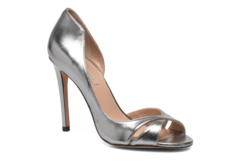 Zapatos de tacón Pura Lopez Elegante Plateado vista de detalle / par