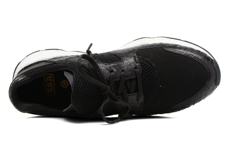 Baskets Ash Matrix Bis Noir vue gauche