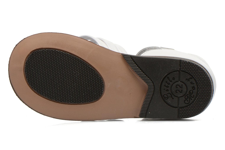 Sandales et nu-pieds Little Mary Virginia Blanc vue haut