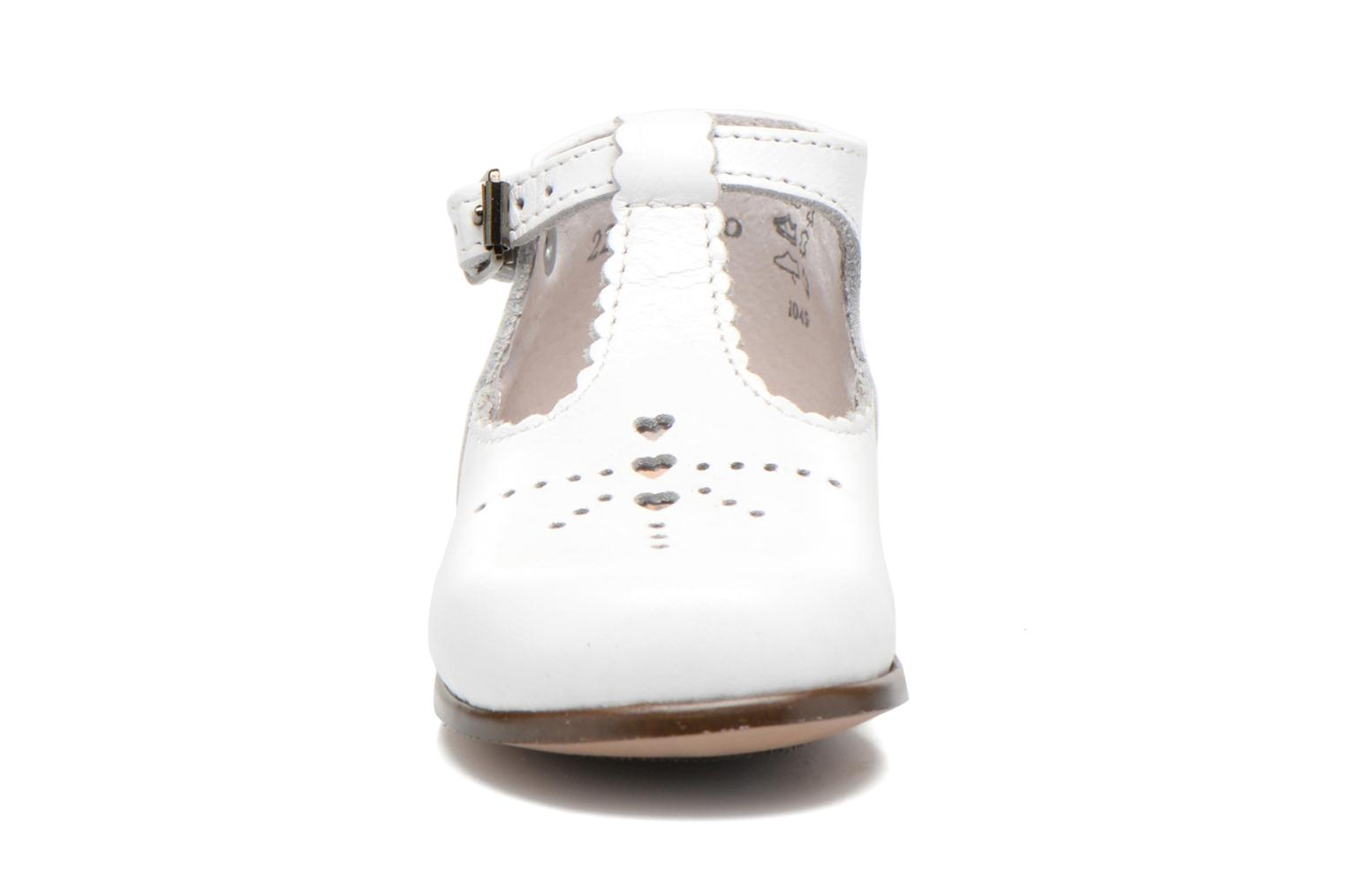 Summer boots Little Mary Floriane White model view