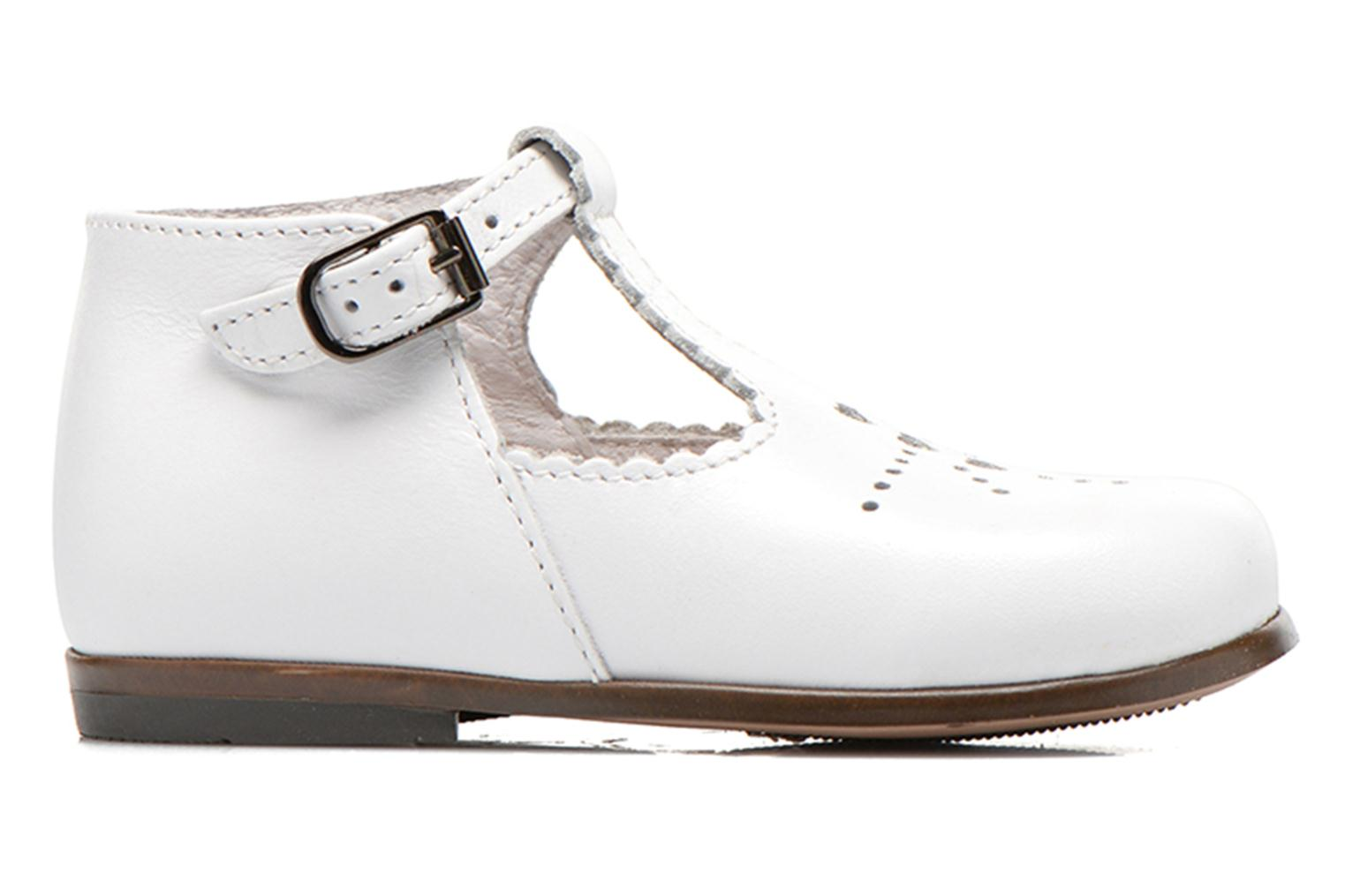 Summer boots Little Mary Floriane White back view