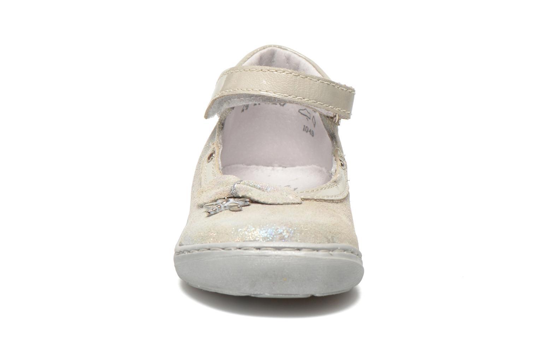 Ballerinas Little Mary Vanda silber schuhe getragen