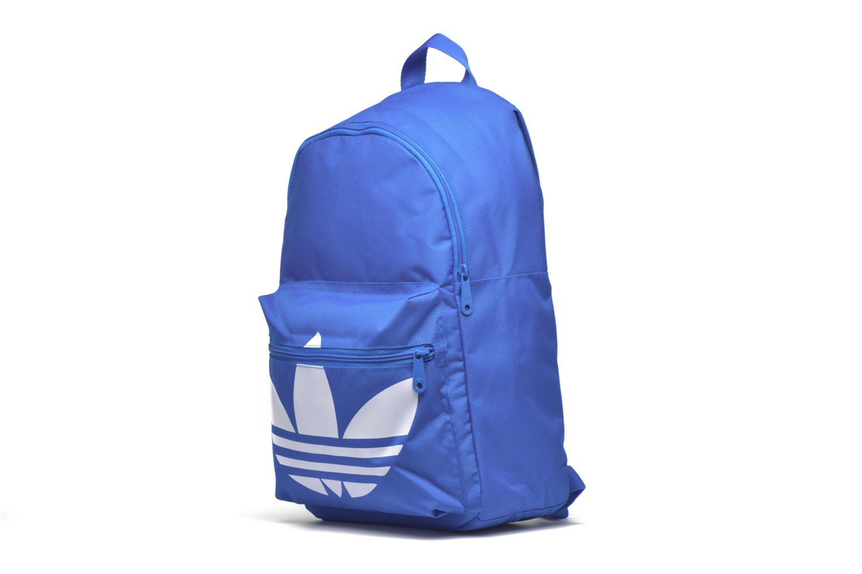 Sacs à dos Adidas Originals BP CLAS TREFOIL Bleu vue portées chaussures