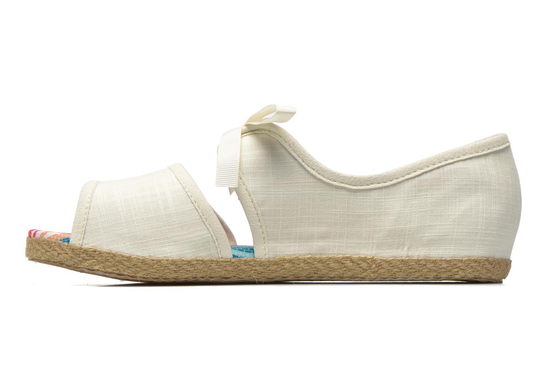 Sandales et nu-pieds UGG Ashleen Beige vue face