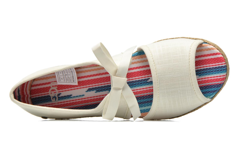 Sandales et nu-pieds UGG Ashleen Beige vue gauche