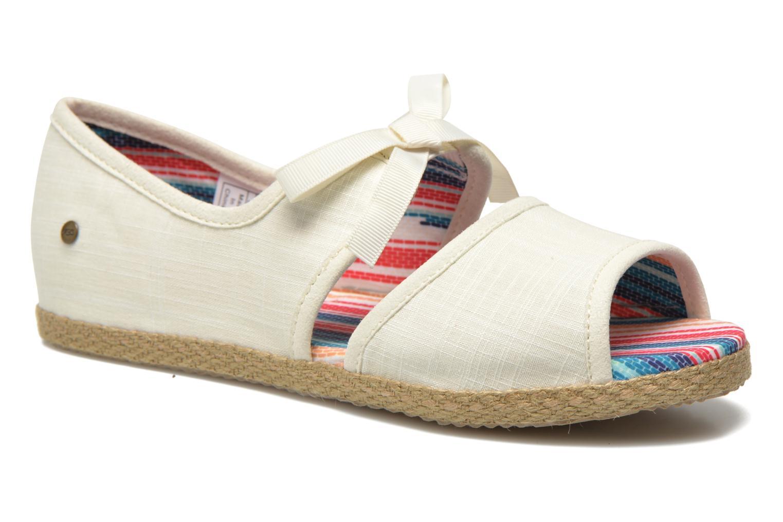 Sandales et nu-pieds UGG Ashleen Beige vue détail/paire