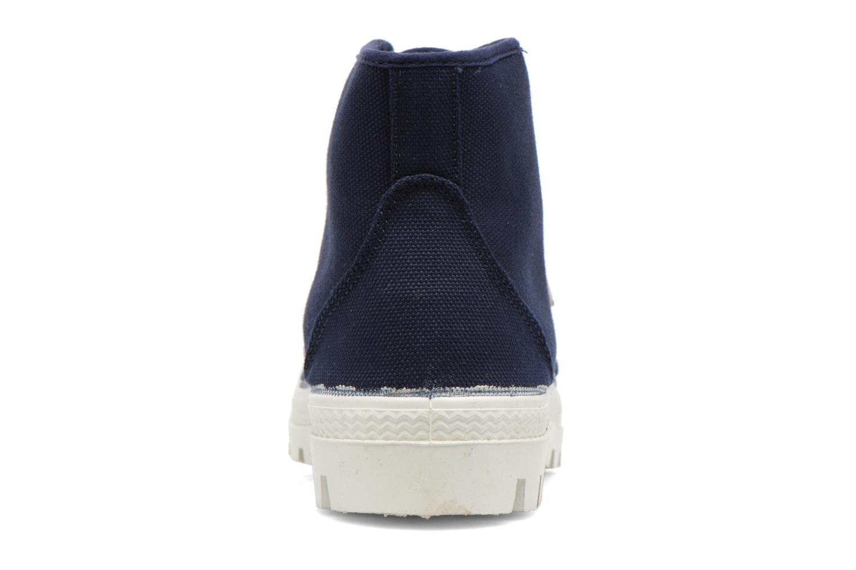 Zapatos con cordones Aigle Rubber Saint Germain W Azul vista lateral derecha