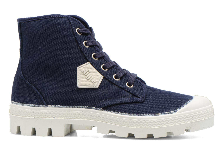Chaussures à lacets Aigle Rubber Saint Germain W Bleu vue derrière