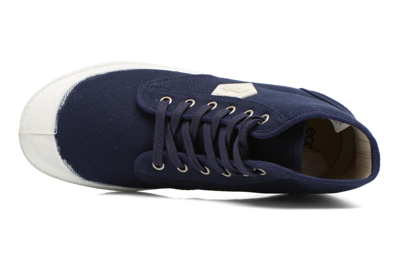 Zapatos con cordones Aigle Rubber Saint Germain W Azul vista lateral izquierda