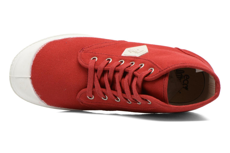 Chaussures à lacets Aigle Rubber Saint Germain W Rouge vue gauche