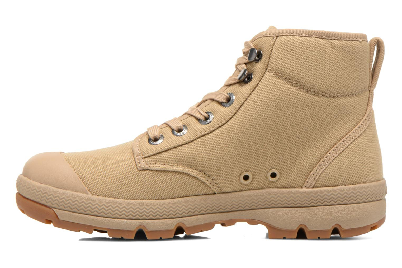 Chaussures à lacets Aigle Tenere 3 Light W Beige vue face