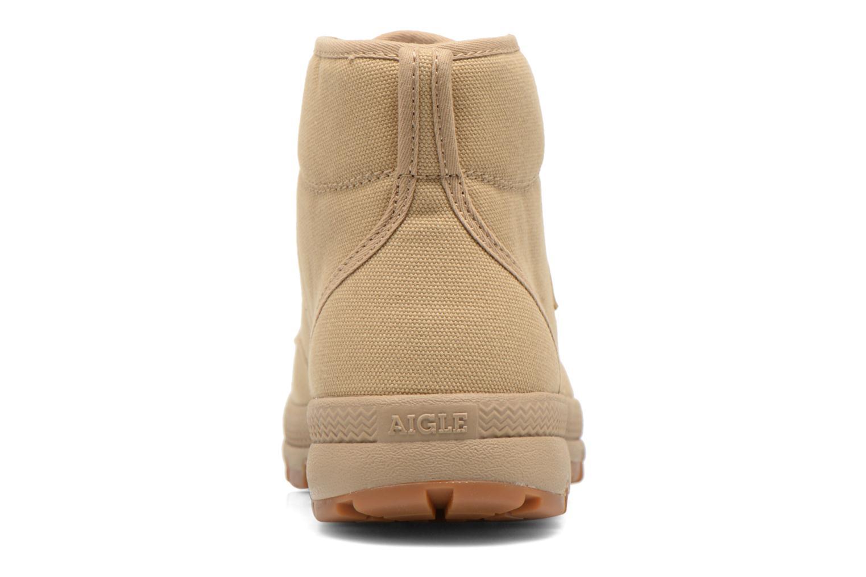 Chaussures à lacets Aigle Tenere 3 Light W Beige vue droite