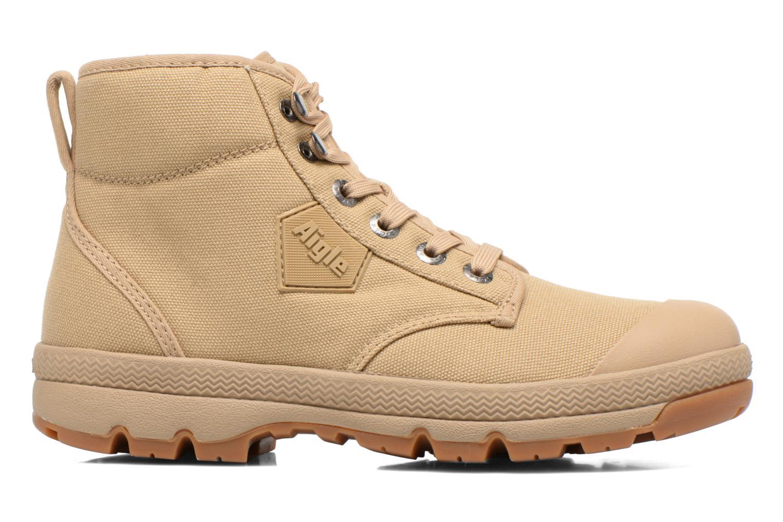 Chaussures à lacets Aigle Tenere 3 Light W Beige vue derrière