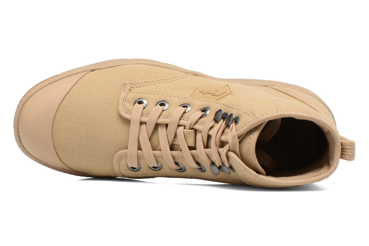 Lace-up shoes Aigle Tenere 3 Light W Beige view from the left