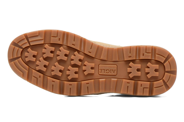 Chaussures à lacets Aigle Tenere 3 Light W Beige vue haut
