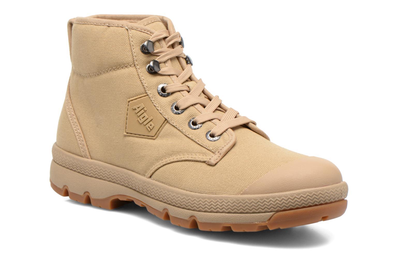 Chaussures à lacets Aigle Tenere 3 Light W Beige vue détail/paire