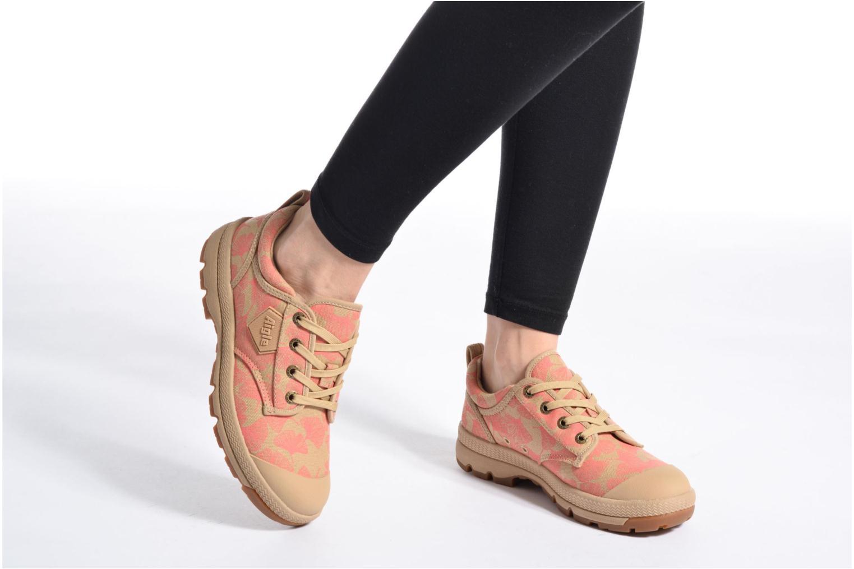 Chaussures à lacets Aigle Tenere 3 Light Low W Beige vue bas / vue portée sac