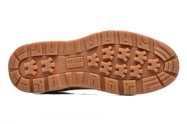 Chaussures à lacets Aigle Tenere 3 Light Low W Beige vue haut