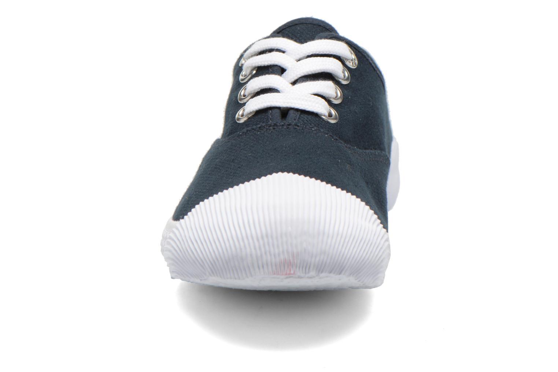 Sneaker Aigle Plimsun W blau schuhe getragen