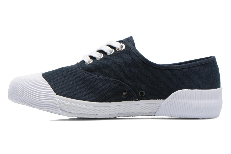 Sneaker Aigle Plimsun W blau ansicht von vorne