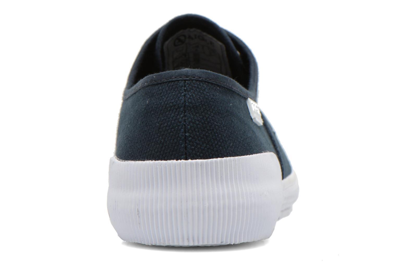 Sneaker Aigle Plimsun W blau ansicht von rechts