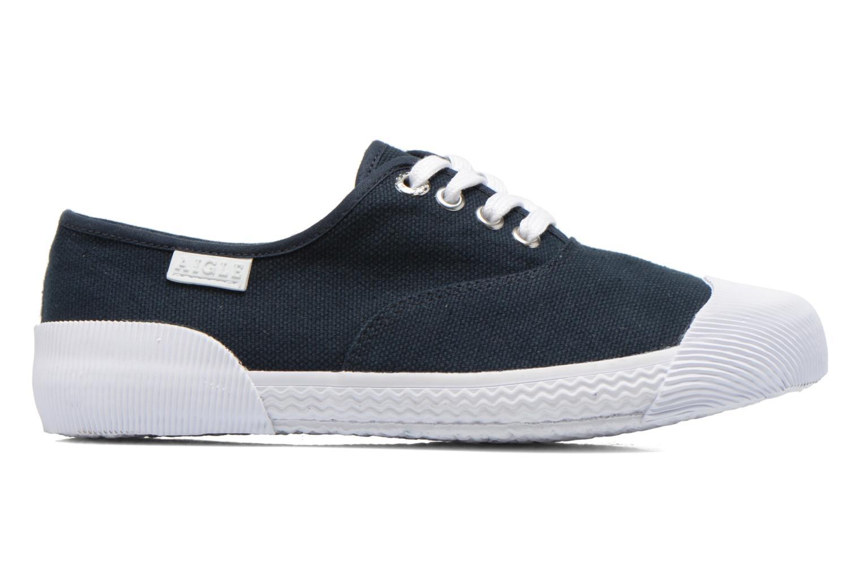 Sneaker Aigle Plimsun W blau ansicht von hinten