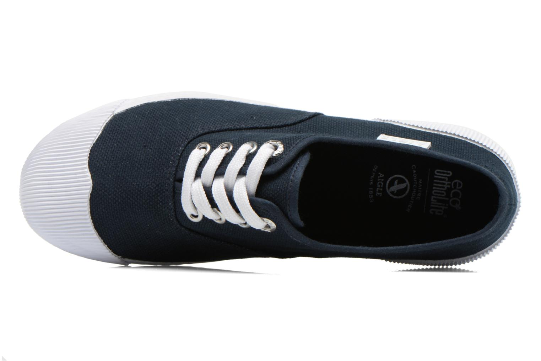 Sneaker Aigle Plimsun W blau ansicht von links