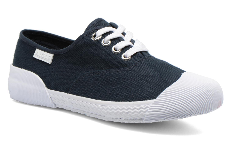 Sneakers Aigle Plimsun W Blå detaljerad bild på paret
