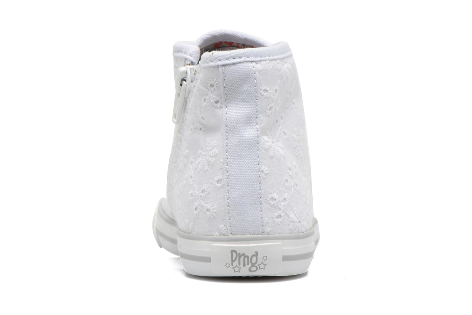 Trainers Primigi College G86 White view from the right