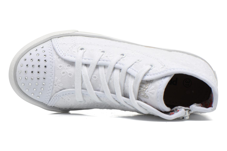 Sneaker Primigi College G86 weiß ansicht von links