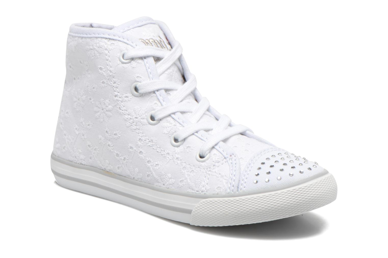 Trainers Primigi College G86 White detailed view/ Pair view