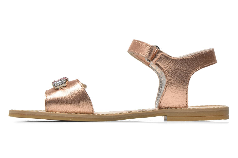 Sandales et nu-pieds Primigi Gabrielle Or et bronze vue face