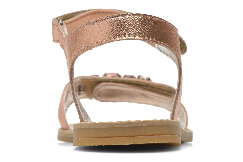 Sandales et nu-pieds Primigi Gabrielle Or et bronze vue droite