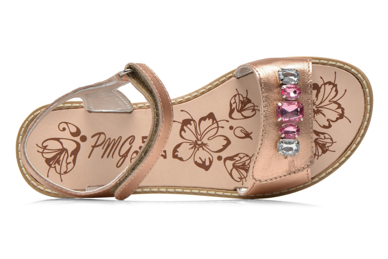 Sandales et nu-pieds Primigi Gabrielle Or et bronze vue gauche