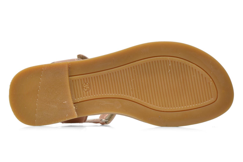 Sandales et nu-pieds Primigi Gabrielle Or et bronze vue haut