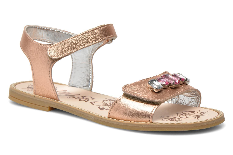 Sandales et nu-pieds Primigi Gabrielle Or et bronze vue détail/paire