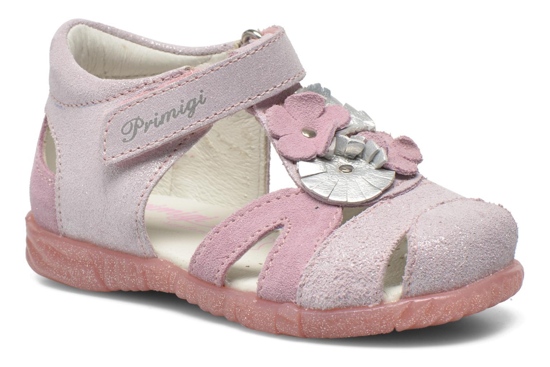 Sandales et nu-pieds Primigi Fraise Rose vue détail/paire