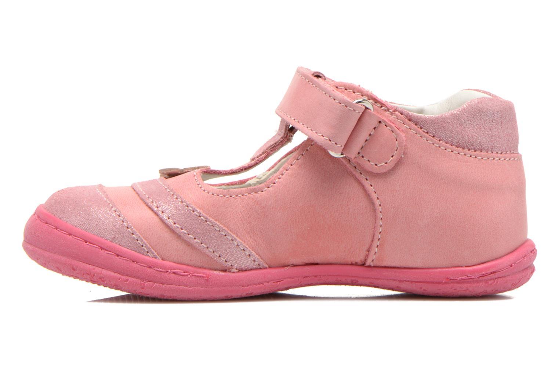Zapatos con velcro Primigi Giusy-E Rosa vista de frente