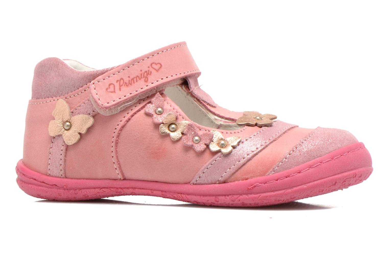 Zapatos con velcro Primigi Giusy-E Rosa vistra trasera