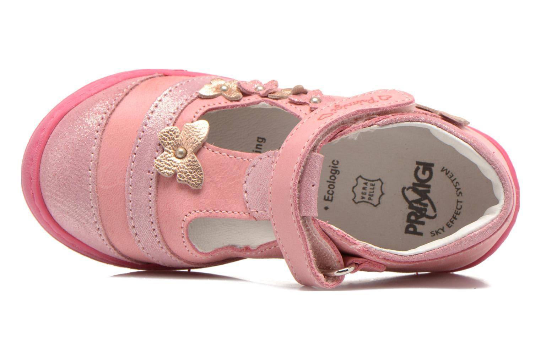 Zapatos con velcro Primigi Giusy-E Rosa vista lateral izquierda