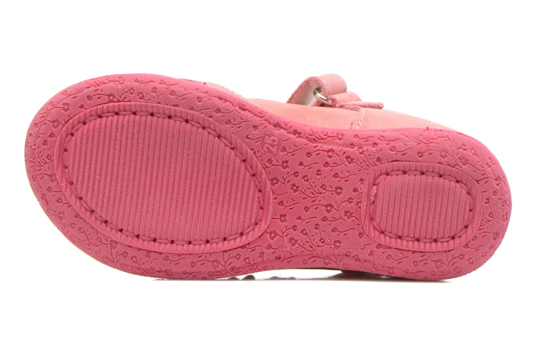 Zapatos con velcro Primigi Giusy-E Rosa vista de arriba