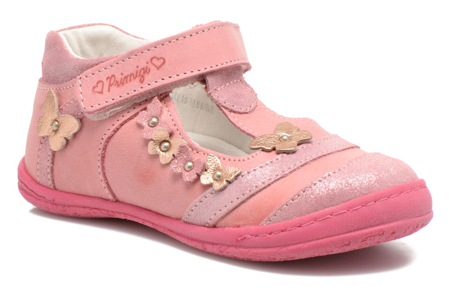 Velcro shoes Primigi Giusy-E Pink detailed view/ Pair view