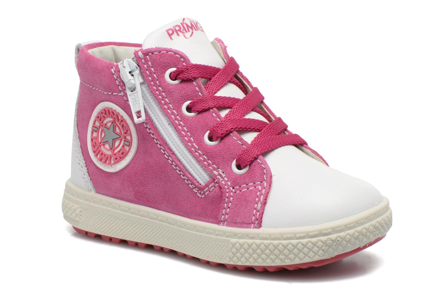 Baskets Primigi Whizz Rose vue détail/paire