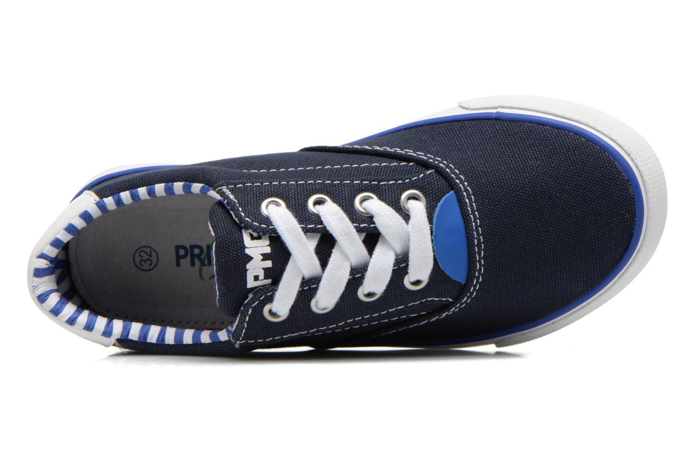 Baskets Primigi Pmg Olli 8 Bleu vue gauche