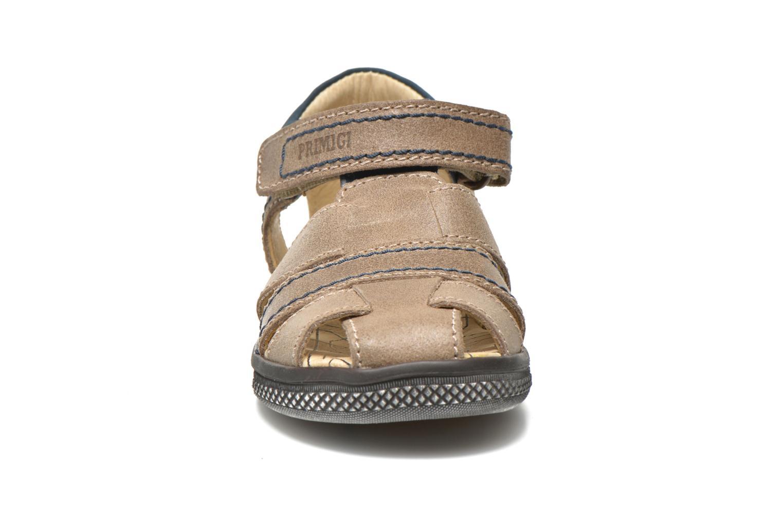Sandales et nu-pieds Primigi Jog 1-E Marron vue portées chaussures