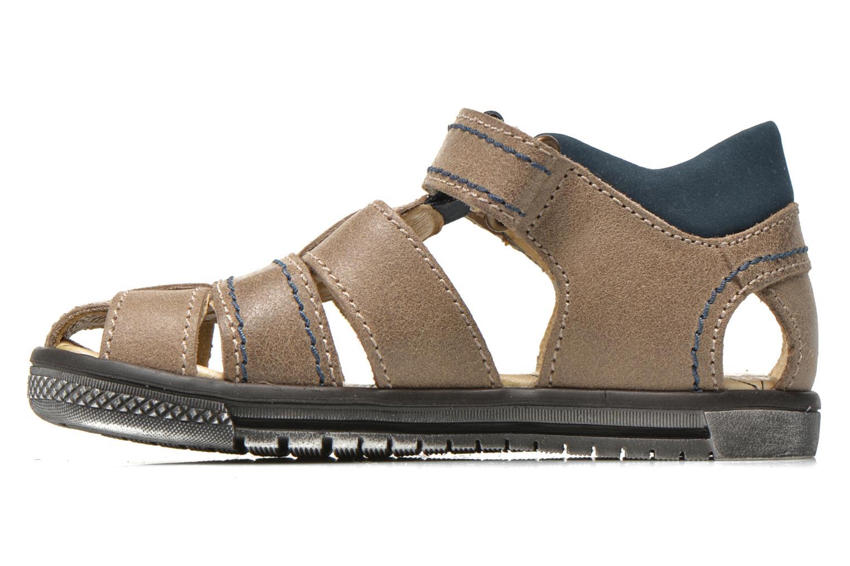 Sandales et nu-pieds Primigi Jog 1-E Marron vue face
