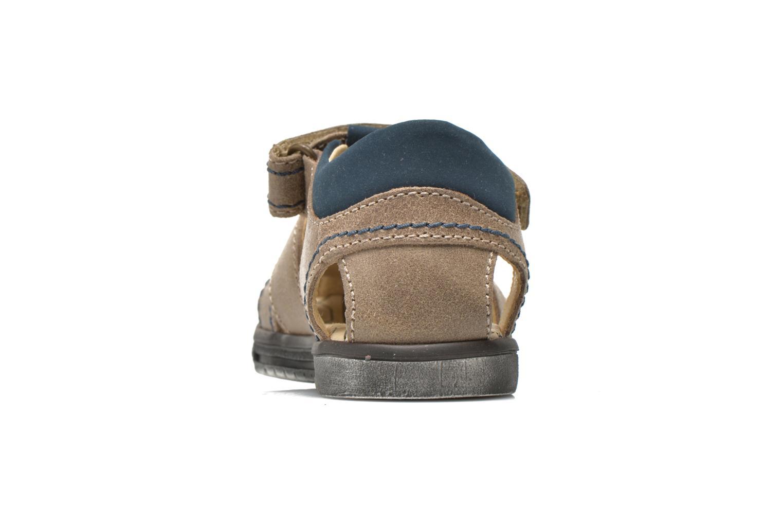 Sandales et nu-pieds Primigi Jog 1-E Marron vue droite