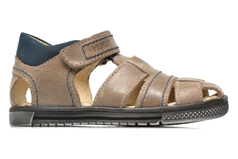 Sandales et nu-pieds Primigi Jog 1-E Marron vue derrière