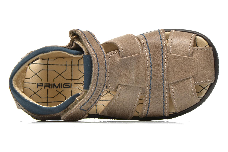 Sandales et nu-pieds Primigi Jog 1-E Marron vue gauche