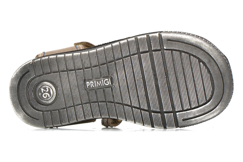 Sandales et nu-pieds Primigi Jog 1-E Marron vue haut